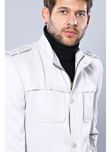 Wessi Erkek Mevsimlik Slim Fit Ceket Taş